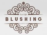 blushing logo